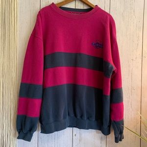 Vintage Sweaters - 🔮Vintage Levis Dockers Striped Crewneck Sweater👽